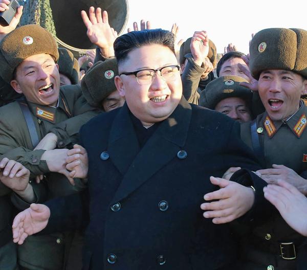 金正恩サマサマの状況(C)朝鮮通信=共同