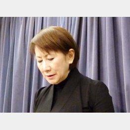 てるみくらぶ社長の山田千賀子容疑者(C)共同通信社