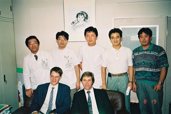 海外の研究者がよく訪れた(提供写真)