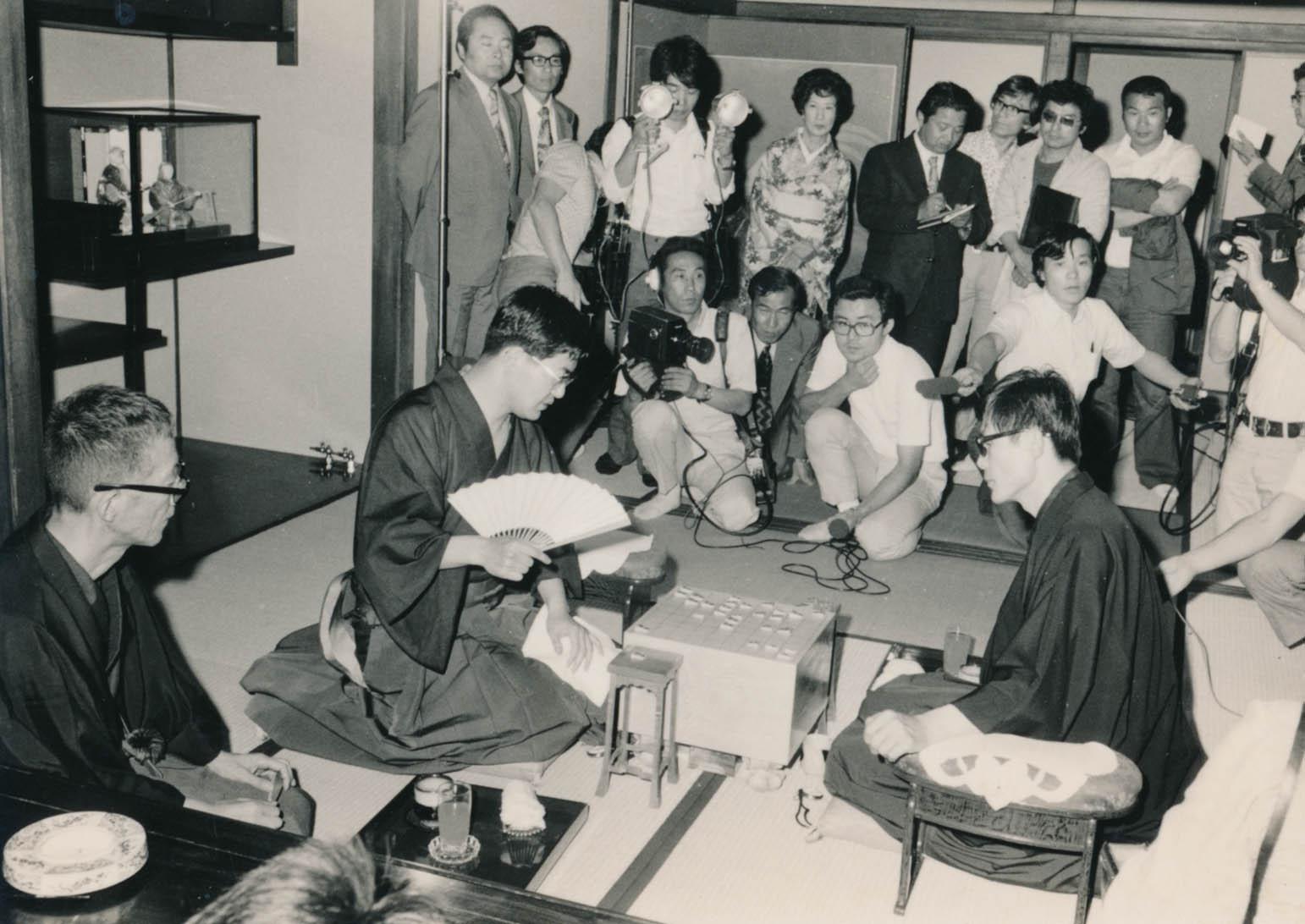 41年前の名人戦(C)日刊ゲンダイ