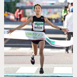 さいたま国際マラソンで日本勢トップだった岩出(C)共同通信社