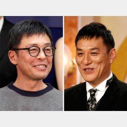 両作品で活躍する光石研(左)とピエール瀧/(C)日刊ゲンダイ