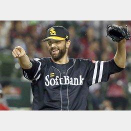 今季はプロ野球記録の54セーブをマーク(C)日刊ゲンダイ