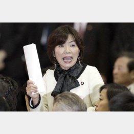「(加計学園は)完全に独裁政治の象徴なんですよ」と森ゆうこ参院議員/(C)日刊ゲンダイ