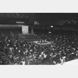 蔵前国技館で行われた第一回「将棋の日」イベント(提供写真)