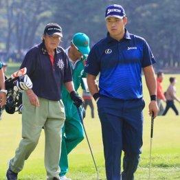 70歳ジャンボの介護ゴルフでは松山の闘争心も薄れてしまう