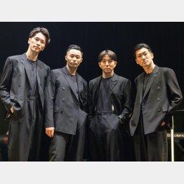 左から、NOPPO、shoji、kazuki、Oguri の4人(提供写真)