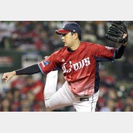 今季は4年ぶり2ケタ勝利(C)日刊ゲンダイ