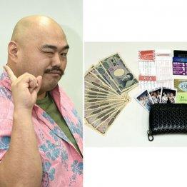 安田大サーカス・クロちゃんは現金主義 クレカは持たず