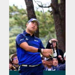 松山のゴルフはどこが悪いのか、ちっともわからない(C)日刊ゲンダイ
