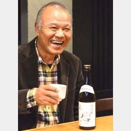 自分で企画・主演した映画のロケ地・宮城で飲んだ「浦霞」が大好き/(C)日刊ゲンダイ