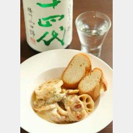 合う酒=日本酒(十四代)/(C)日刊ゲンダイ