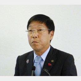 岸和田市長の信貴芳則氏(C)共同通信社