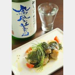 合う酒=日本酒(鳳凰美田)(C)日刊ゲンダイ