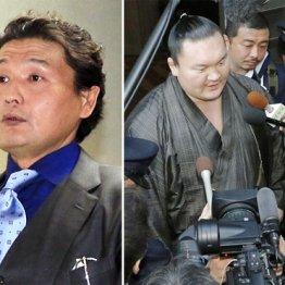 混乱に拍車をかける貴乃花親方(警察の聴取に「リモコンで殴ったのを見た」と証言した白鵬=右)