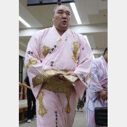 引退の道を選んだ日馬富士(C)日刊ゲンダイ