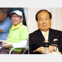 """加計理事長(左)に与党以外にも""""お友達""""がいた/(C)日刊ゲンダイ"""