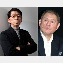 ビートたけしを「今も目標」と語る吉田照美(左)/(C)日刊ゲンダイ