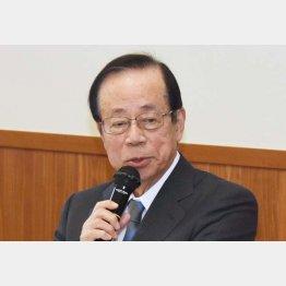 政治信条は水と油(写真は福田元首相)/(C)日刊ゲンダイ