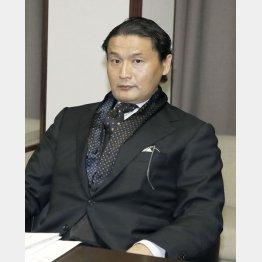 スピード出世の貴乃花親方(C)日刊ゲンダイ