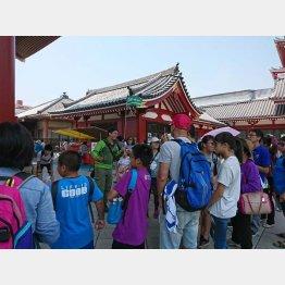 外国人観光客は多くなってきているが…(写真はイメージ)/(C)日刊ゲンダイ