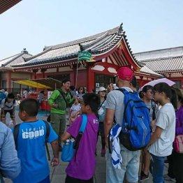 外国人観光客は多くなってきているが…(写真はイメージ)