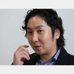 アトの安田周社長(C)日刊ゲンダイ