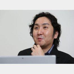 アトの安田周社長 (C)日刊ゲンダイ