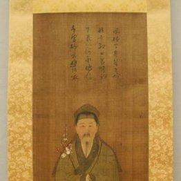 大英博物館の菅原道真を描いた「渡唐天神像」