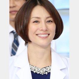米倉涼子のクールさがドラマにハマった(C)日刊ゲンダイ