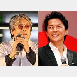 沢田研二(左)、福山雅治/(C)日刊ゲンダイ