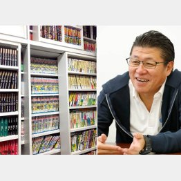 メガネスーパー社長の星﨑尚彦さん(C)日刊ゲンダイ
