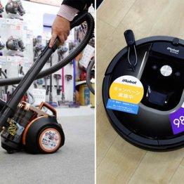 【掃除機】3LDK以上はロボットとスティックを組み合わせ