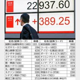 年内に2万3000円固めか(C)日刊ゲンダイ