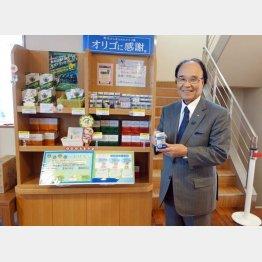 伊那食品工業の塚越寛会長(C)日刊ゲンダイ