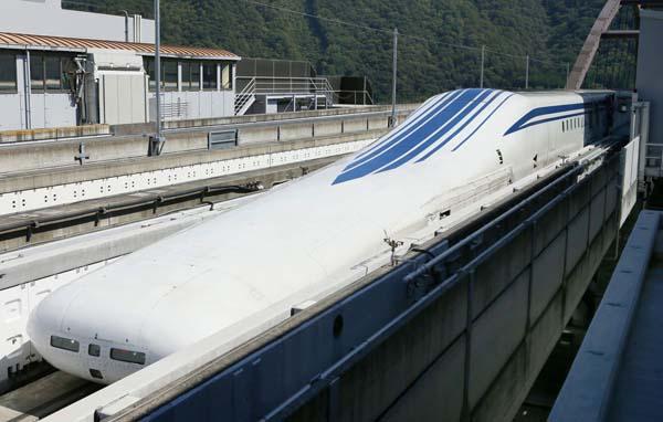 2027年に東京ー名古屋間が先行開業予定(C)共同通信社