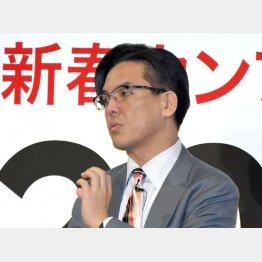 幅広い人脈を持つペジー社代表の斉藤元章容疑者(C)日刊ゲンダイ
