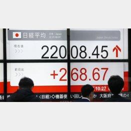 株価は高値圏だが…(C)日刊ゲンダイ