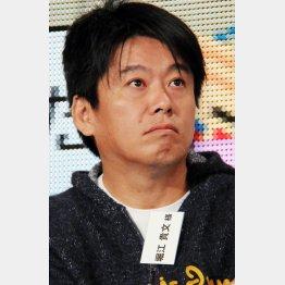 NHKの番組で着用していたTシャツが物議…(C)日刊ゲンダイ