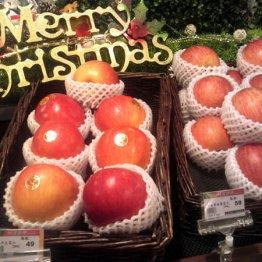 """台北の""""デパ地下""""では青森産リンゴが進物用で別格の扱い"""