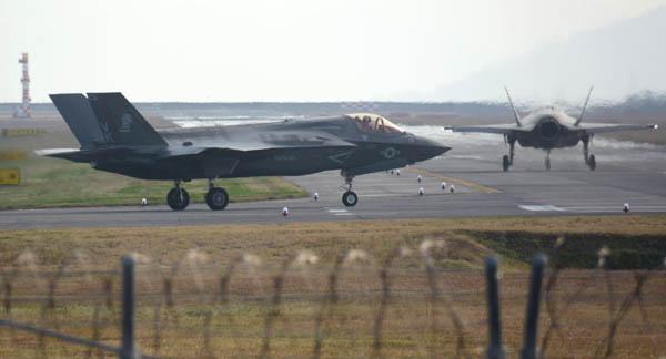 F35B最新鋭ステルス戦闘機(C)共同通信社