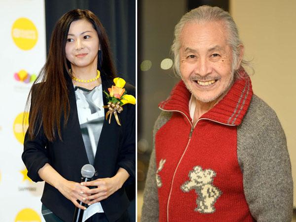 倉木麻衣(左)の実父で映画監督プロデューサーの山前五十洋さん/(C)日刊ゲンダイ