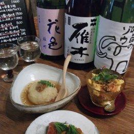 """お酒がススムごはんや1975(大阪・南森町)凝った料理ばかりの""""マル得""""居酒屋"""