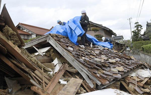 鳥取地震は東南海地震のサインのひとつ(C)共同通信社