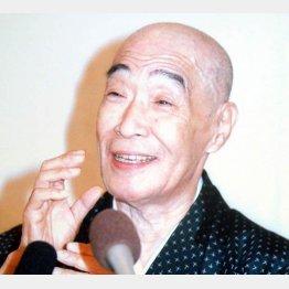 晩年のころの村田英雄さん(C)日刊ゲンダイ