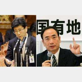 終わらない(佐川国税庁長官と籠池前理事長)(C)日刊ゲンダイ