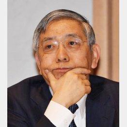 最悪の選択(黒田日銀総裁)(C)日刊ゲンダイ