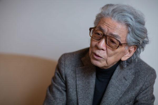 五木寛之氏(C)日刊ゲンダイ