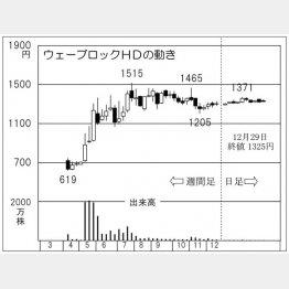 ウェーブロックホールディングス(C)日刊ゲンダイ