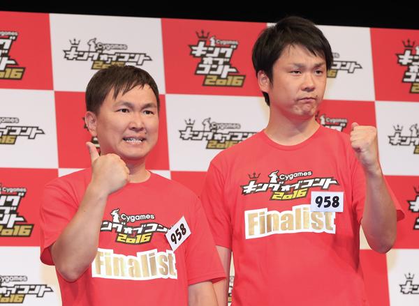 かまいたちの山内健司(左)と濱家隆一(C)日刊ゲンダイ